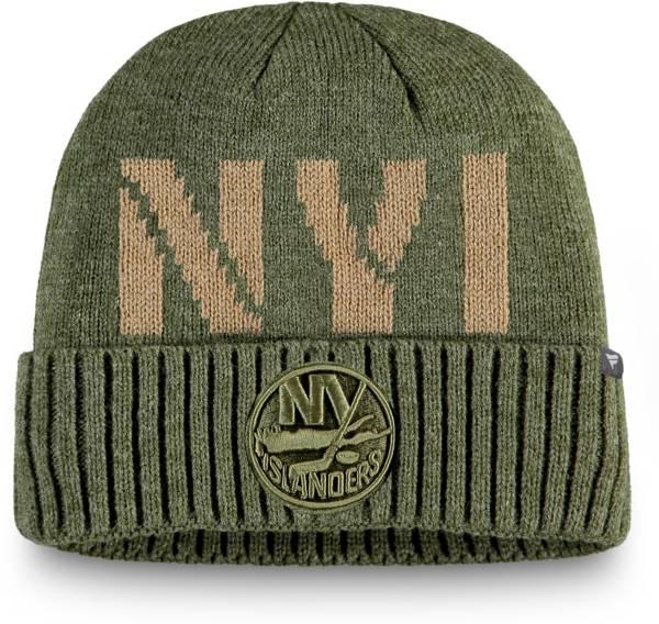 NHL Men's New York Islanders Modern Utility Cuff Knit Beanie product image