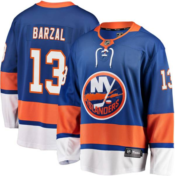 NHL Men's New York Islanders Mathew Brazal #13 Breakaway Home Replica Jersey product image