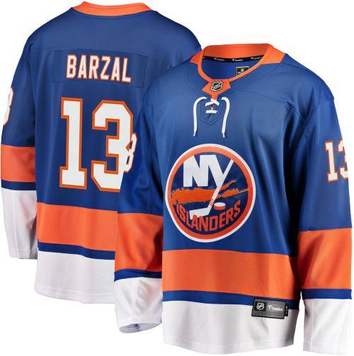 half off 8d2a5 2d4fb NHL Men s New York Islanders Mathew Brazal  13 Breakaway Home Replica Jersey.  noImageFound. Previous