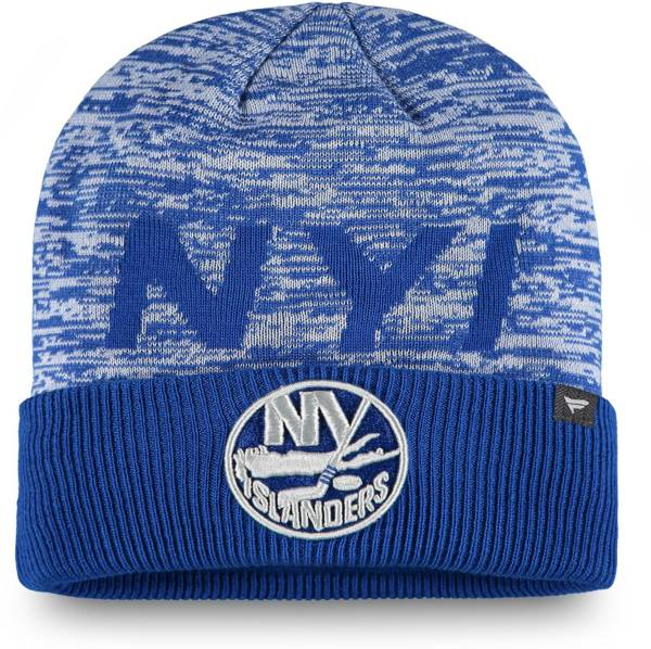 NHL Men's New York Islanders Clutch Cuffed Knit Beanie product image