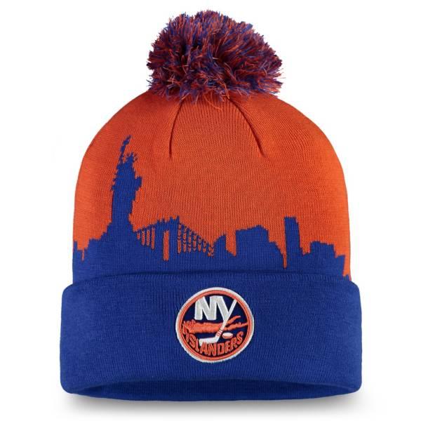 NHL Men's New York Islanders Hometown Royal Pom Knit Beanie product image