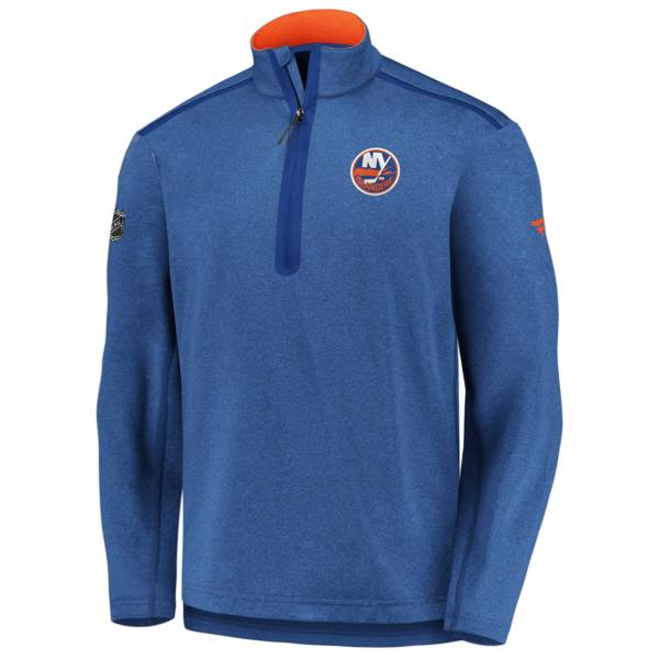 NHL Men's New York Islanders Authentic Pro Royal Quarter-Zip Pullover product image