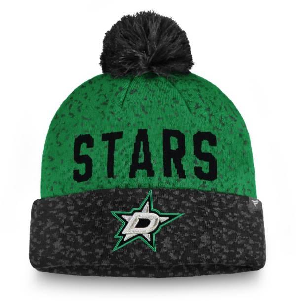 NHL Men's Dallas Stars Fan Weave Pom Knit Beanie product image