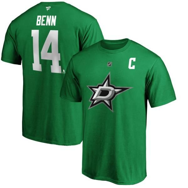 NHL Men's Dallas Stars Jamie Benn #14 Green Player T-Shirt product image