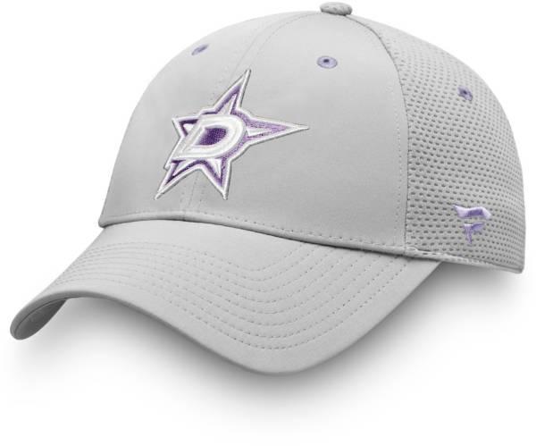 NHL Men's Dallas Stars Hockey Fights Cancer Snapback Adjustable Hat product image