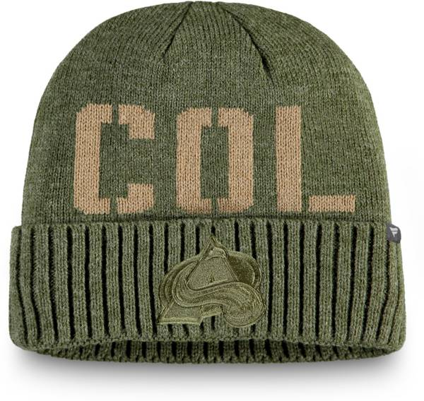 NHL Men's Colorado Avalanche Modern Utility Cuff Knit Beanie product image