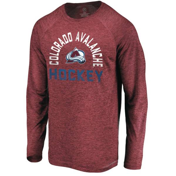 NHL Men's Colorado Avalanche Breezer Maroon Long Sleeve Shirt product image