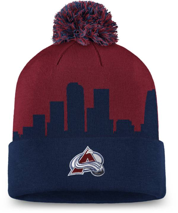 NHL Men's Colorado Avalanche Hometown Maroon Pom Knit Beanie product image