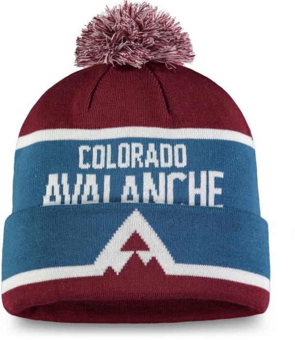 NHL Men's 2020 Stadium Series Colorado Avalanche Team Pom Knit Beanie product image