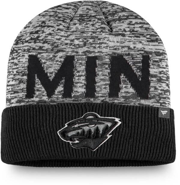 NHL Men's Minnesota Wild Clutch Cuffed Knit Beanie product image