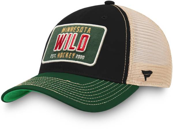 NHL Men's Minnesota Wild Classic Snapback Adjustable Hat product image