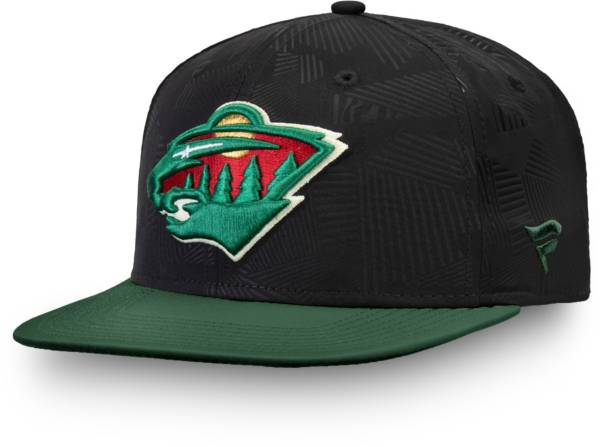 NHL Men's Minnesota Wild Iconic Snapback Adjustable Hat product image
