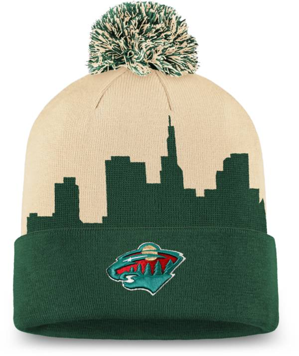 NHL Men's Minnesota Wild Hometown Green Pom Knit Beanie product image