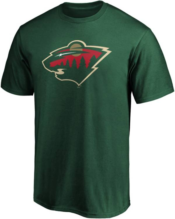 NHL Men's Minnesota Wild Primary Logo Green T-Shirt product image