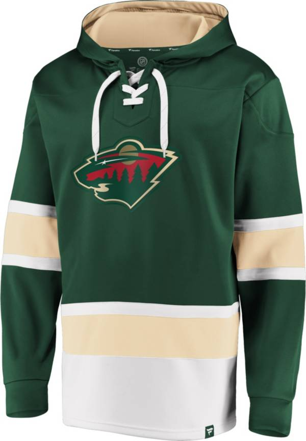 NHL Men's Minnesota Wild Power Play Green Pullover Hoodie product image