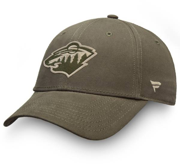NHL Men's Minnesota Wild Modern Utility Snapback Adjustable Hat product image