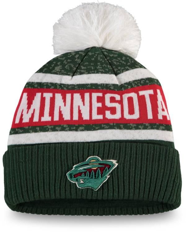 NHL Women's Minnesota Wild Pom Knit Beanie product image