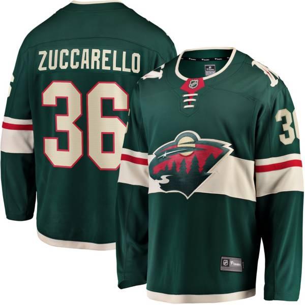 NHL Men's Minnesota Wild Mats Zuccarello #36 Breakaway Home Replica Jersey product image