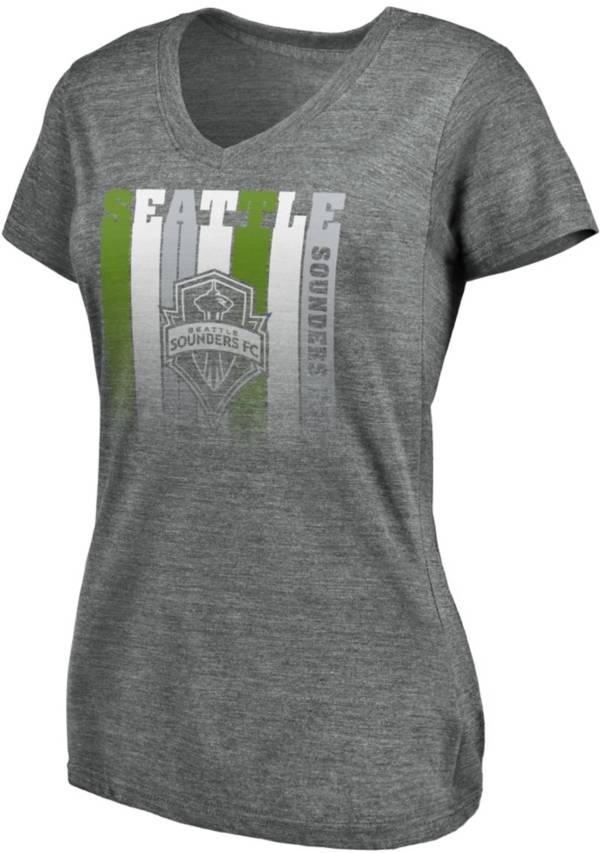 MLS Women's Seattle Sounders Fun Grey Tri-Blend T-Shirt product image