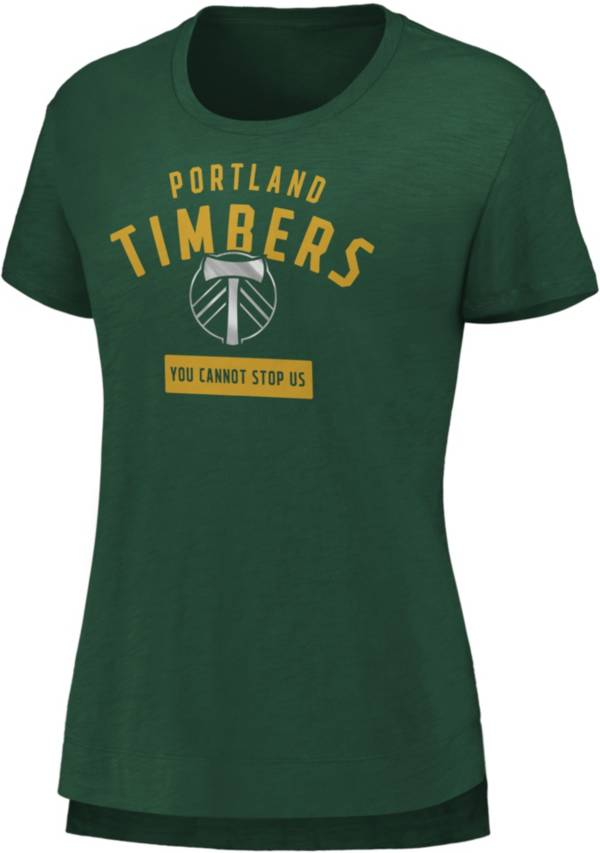 MLS Women's Portland Timbers Iconic Green T-Shirt product image