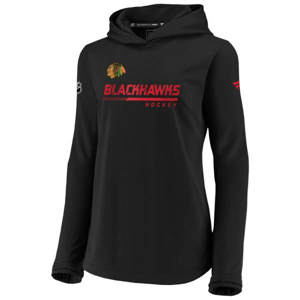 NHL Women's Chicago Blackhawks Travel Black Pullover Sweatshirt product image