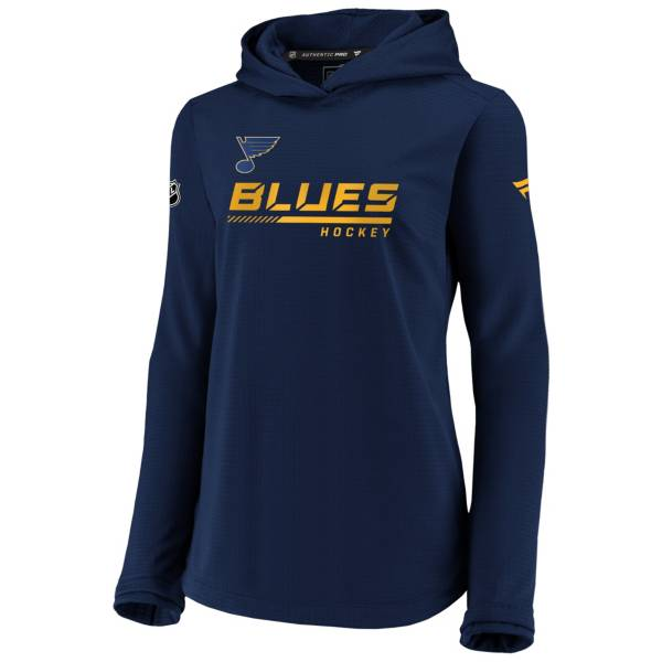 NHL Women's St. Louis Blues Travel Navy Pullover Sweatshirt product image