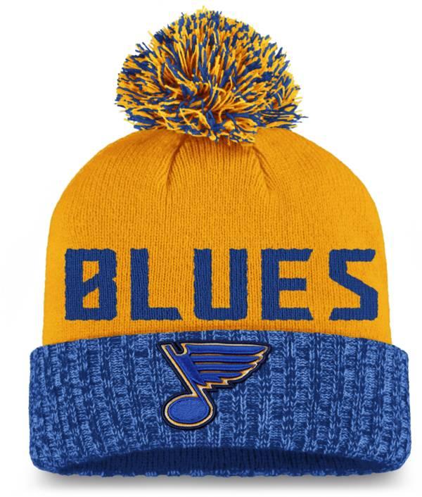 NHL Women's St. Louis Blues Royal Pom Knit Beanie product image