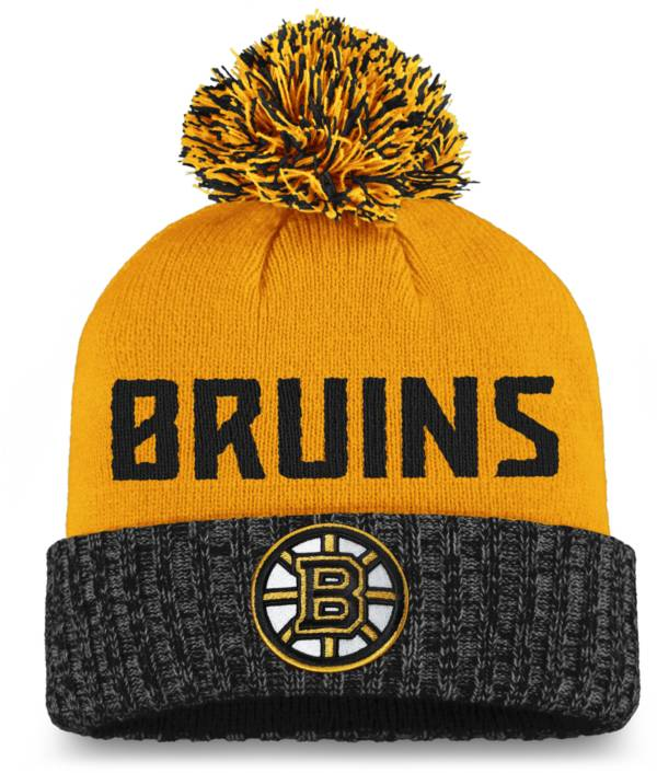 NHL Women's Boston Bruins Black Pom Knit Beanie product image