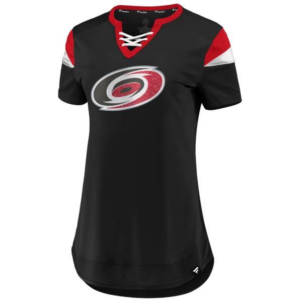 NHL Women's Carolina Hurricanes Athena Black T-Shirt product image