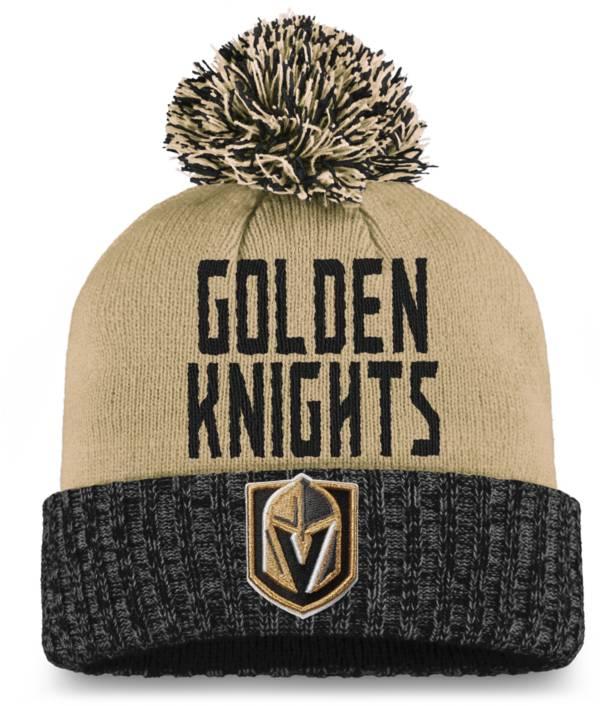 NHL Women's Las Vegas Golden Knights Black Pom Knit Beanie product image