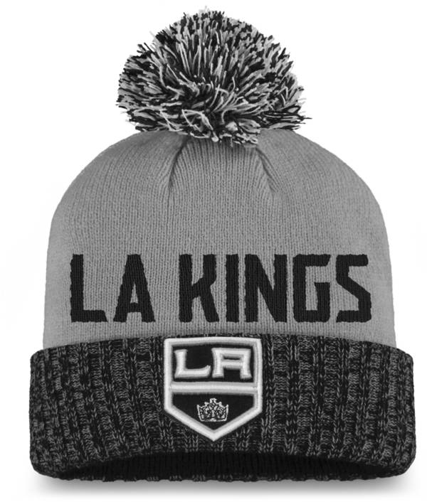 NHL Women's Los Angeles Kings Black Pom Knit Beanie product image