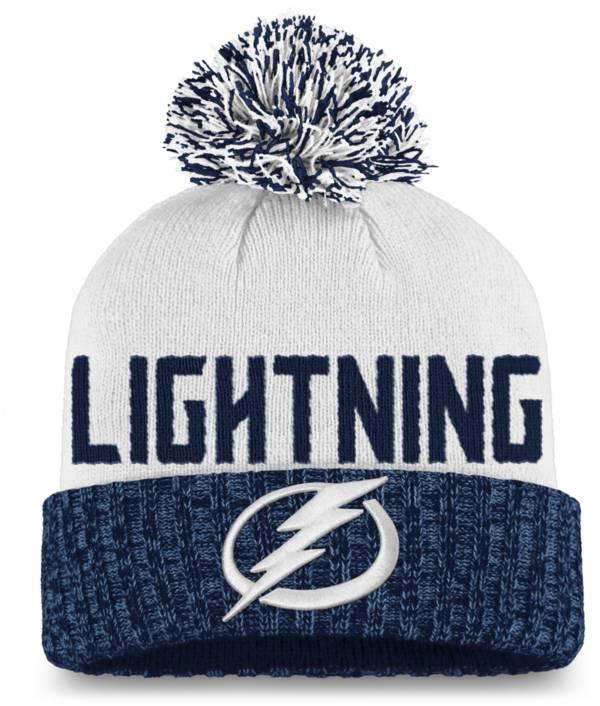 NHL Women's Tampa Bay Lightning Blue Pom Knit Beanie product image