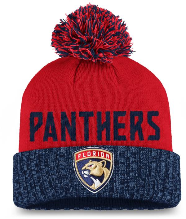 NHL Women's Florida Panthers Red Pom Knit Beanie product image