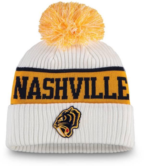 NHL Women's 2020 Winter Classic Nashville Predators Team Pom Knit Beanie product image