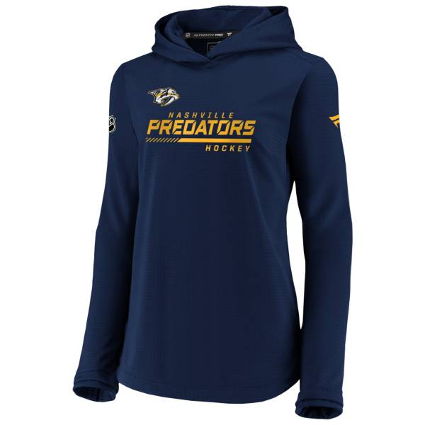 NHL Women's Nashville Predators Travel Navy Pullover Sweatshirt product image
