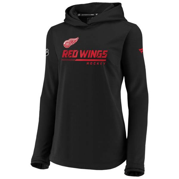 NHL Women's Detroit Red Wings Travel Black Pullover Sweatshirt product image