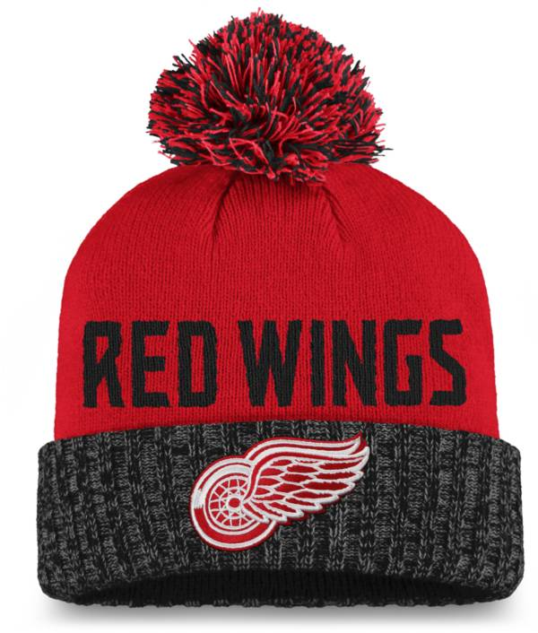 NHL Women's Detroit Red Wings Red Pom Knit Beanie product image