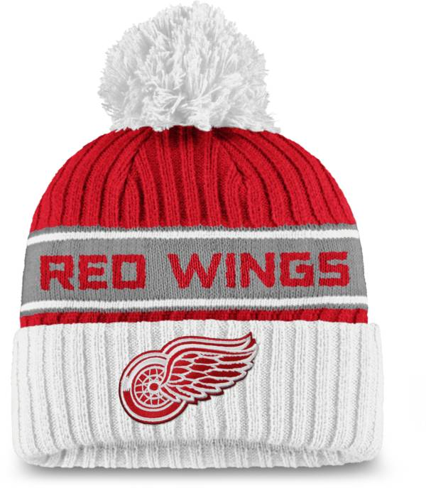 NHL Women's Detroit Red Wings Authentic Pro Red Pom Knit Beanie product image