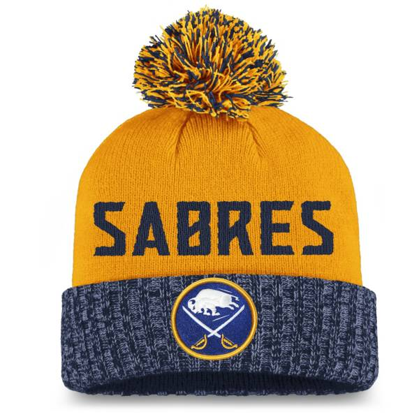 NHL Women's Buffalo Sabres Royal Pom Knit Beanie product image