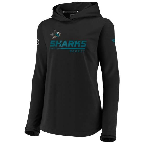 NHL Women's San Jose Sharks Travel Black Pullover Sweatshirt product image