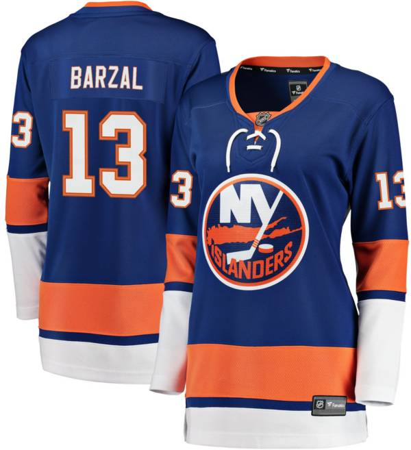 NHL Women's New York Islanders Mathew Barzal #13 Breakaway Home Replica Jersey product image
