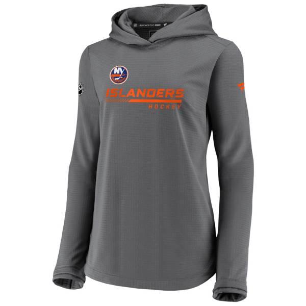 NHL Women's New York Islanders Travel Gray Pullover Sweatshirt product image