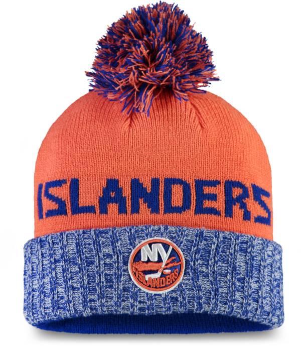 NHL Women's New York Islanders Royal Pom Knit Beanie product image