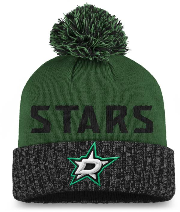 NHL Women's Dallas Stars Green Pom Knit Beanie product image