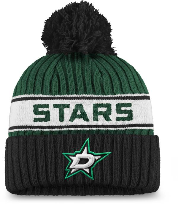 NHL Women's Dallas Stars Authentic Pro Green Pom Knit Beanie product image