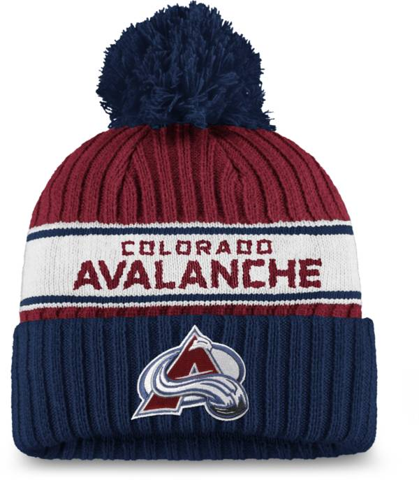 NHL Women's Colorado Avalanche Authentic Pro Maroon Pom Knit Beanie product image