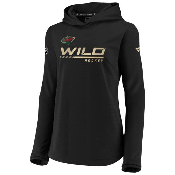 NHL Women's Minnesota Wild Travel Black Pullover Sweatshirt product image