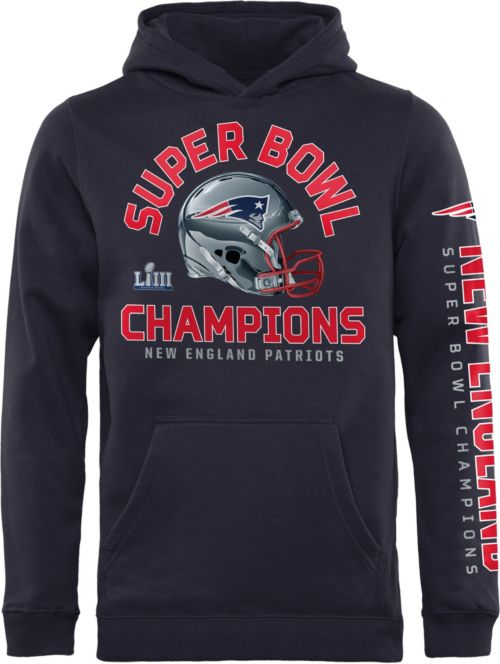 NFL Youth Super Bowl LIII Champions New England Patriots Two Minute Drill  Hoodie. noImageFound. Previous 86977f3f4