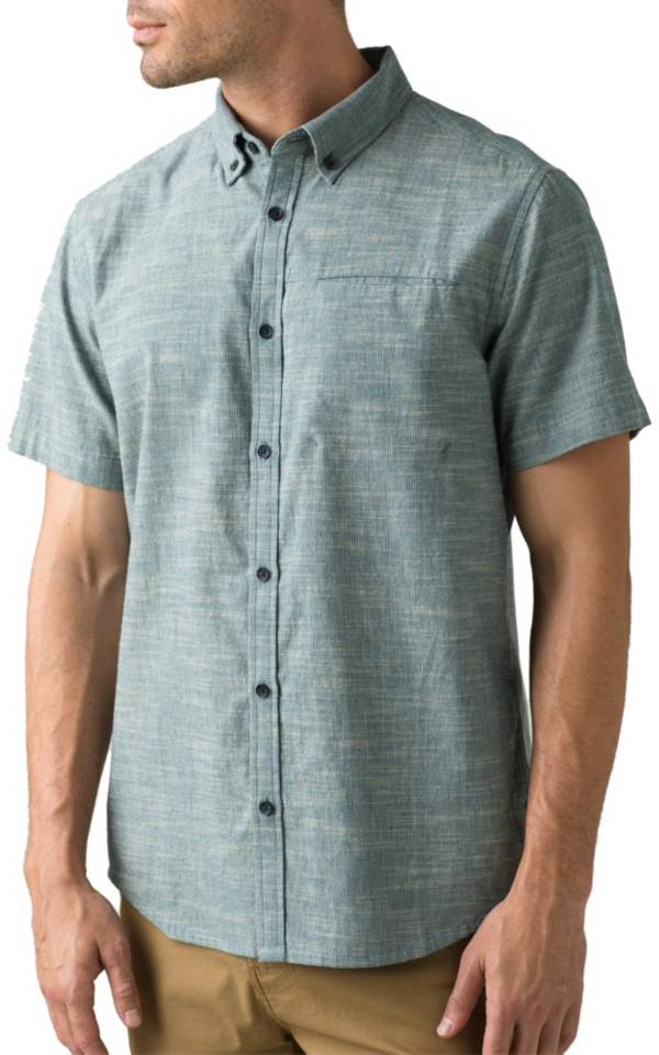 prAna Men's Agua Short Sleeve Shirt product image