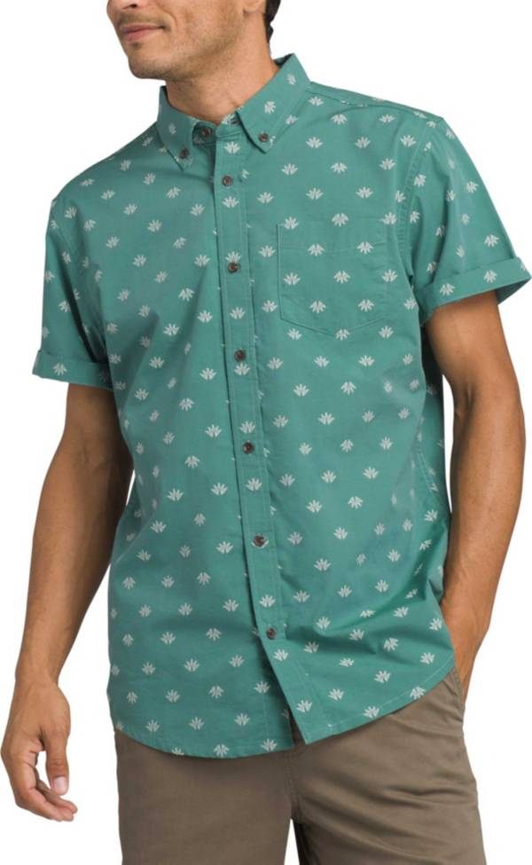 prAna Men's Broderick Short Sleeve Button Up Shirt product image